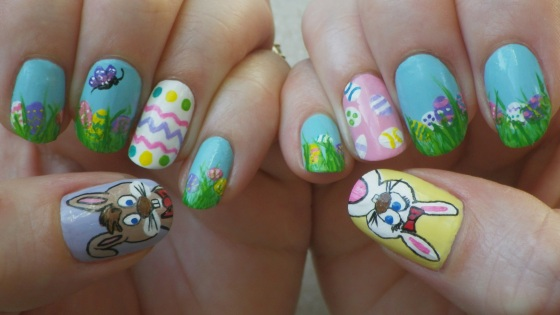 easter nails art